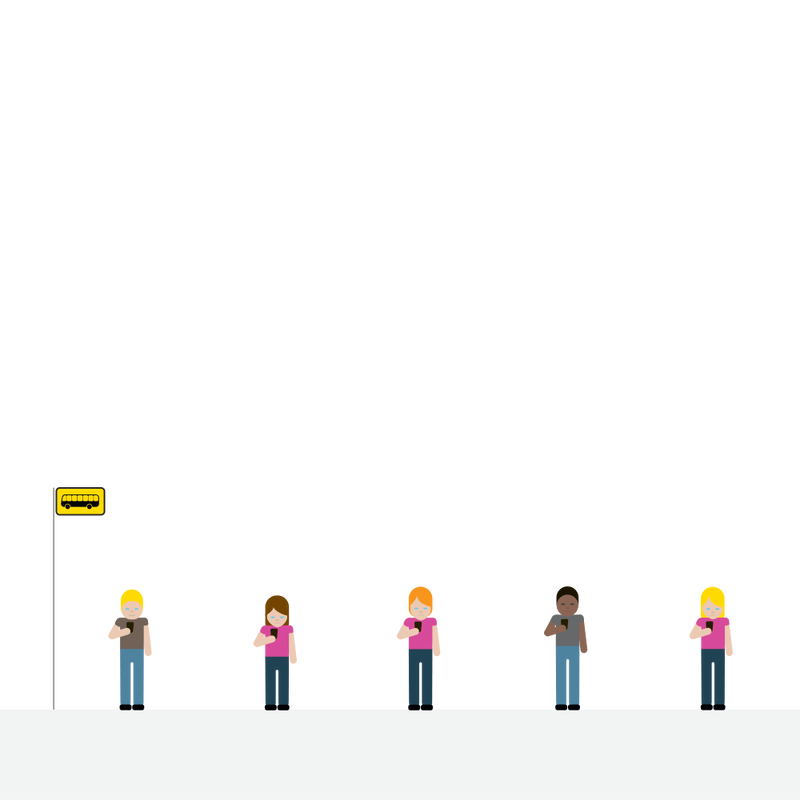 """The Bus Stop: """"Finns respect the privacy and personal space of others, and expect the same in return. We tend not to sit down next to anyone if another seat is available. When talking to a Finn, don't stand too close — unless you want to see a Finn slowly edging backwards."""""""