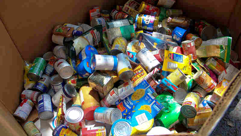 A few cities around the country are letting drivers cover part or all of their parking fines with food donations.