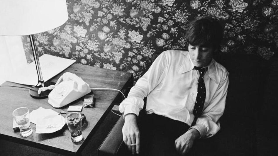 John Lennon in 1966. (Getty Images)
