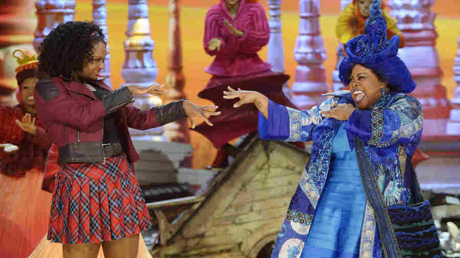 Shanice Williams and Amber Riley were two of the stars of NBC's The Wiz Live!