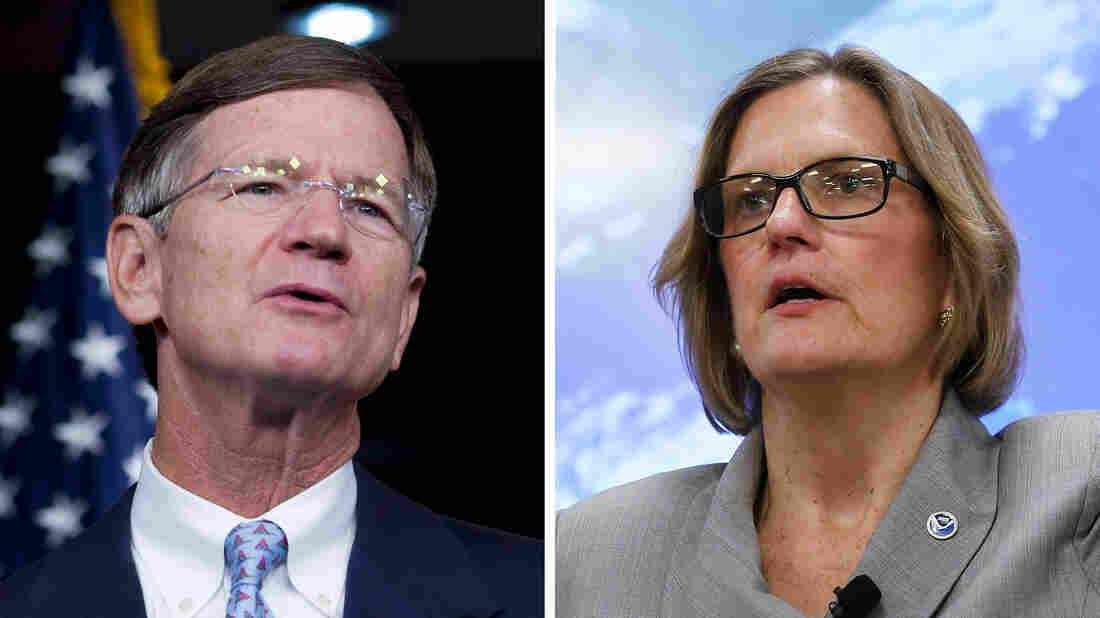 U.S. Rep. Lamar Smith, R-Texas, and Kathryn Sullivan, director of the National Oceanic and Atmospheric Administration, have been tangling for months over the legitimacy of a climate study NOAA scientists published in Science.