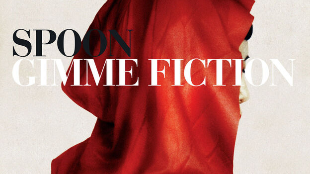 The cover art for Spoon's Gimme Fiction depicts a mysterious figure based on Red Riding Hood. (Courtesy of the artist)