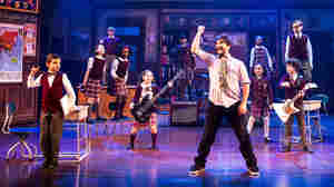 Alex Brightman stars as Dewey Finn — a rocker turned substitute teacher — in the musical adaptation of School of Rock.
