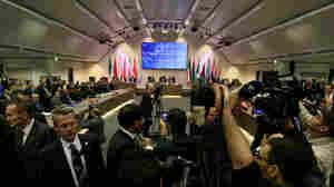 OPEC oil ministers met Friday in Vienna but failed to agree on whether to set new production limits.