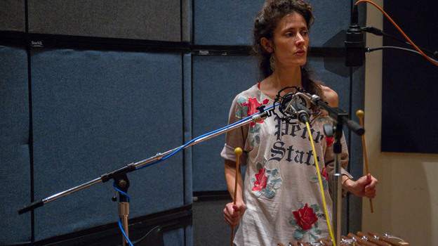 Diane Cluck performs live in the studio for Folkadelphia. (Folkadelphia)