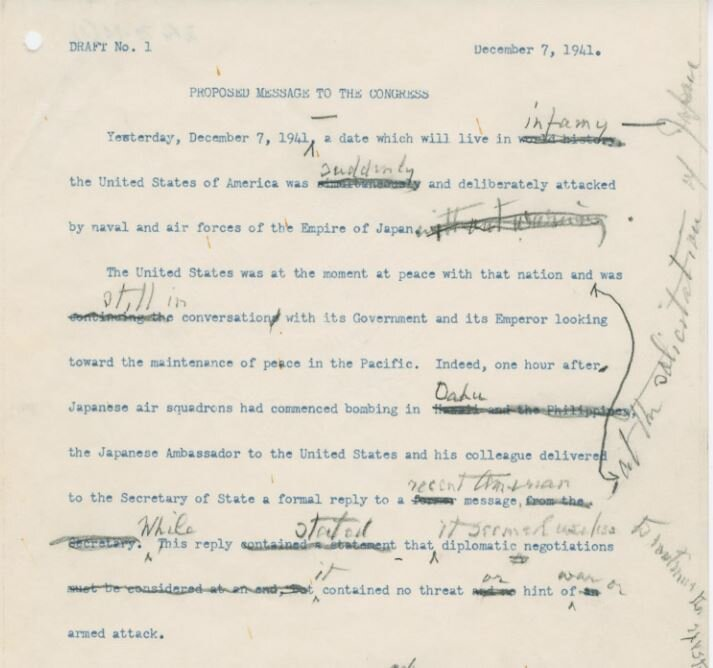 Pearl Harbor How A Date Which Will Live In Infamy Almost Wasnt – Pearl Harbor Worksheet