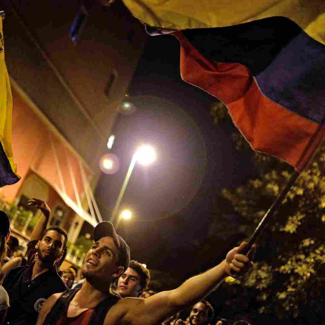Opposition Party Wins Big In Venezuela, Ousting Maduro's Socialists