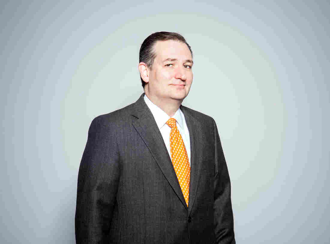 Ted Cruz visited NPR headquarters on Tuesday to talk with Steve Inskeep about his plans for protecting the U.S. from terrorist attacks and his views on climate change.
