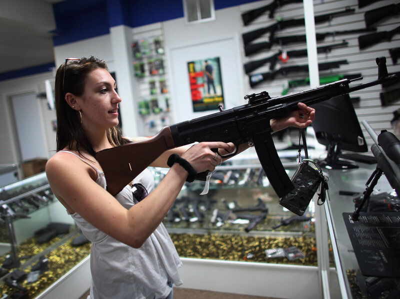 How easily can you buy a gun in your state? And what can you do with it? Check out our maps to find out. (Joe Raedle/Getty Images)