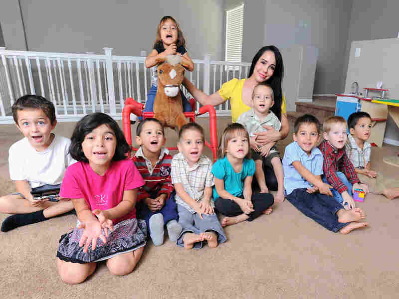 """Nadya Suleman was dubbed """"Octomom"""" after the birth of her octuplets."""