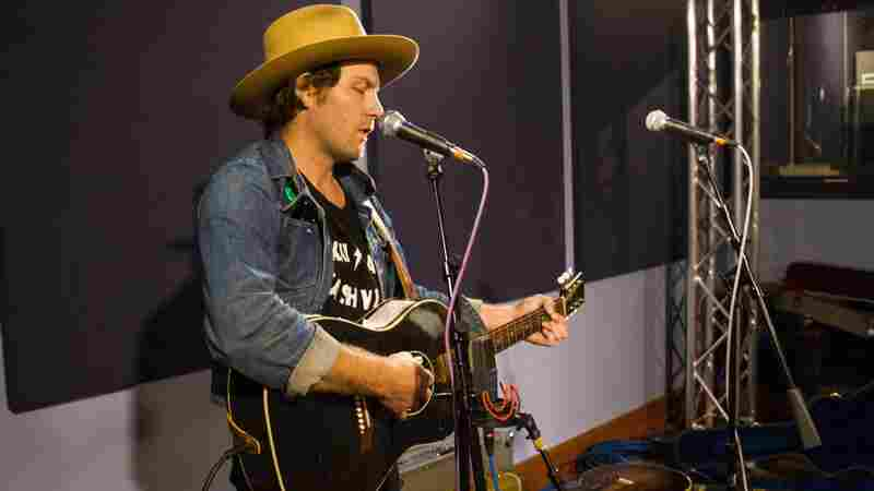 Frankie Lee performs live in the studio for World Cafe.
