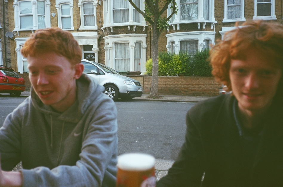 Archy Marshall (left) and his brother Jack collaborated on the new album and art book, both called A New Place 2 Drown. (Courtesy of the artist)