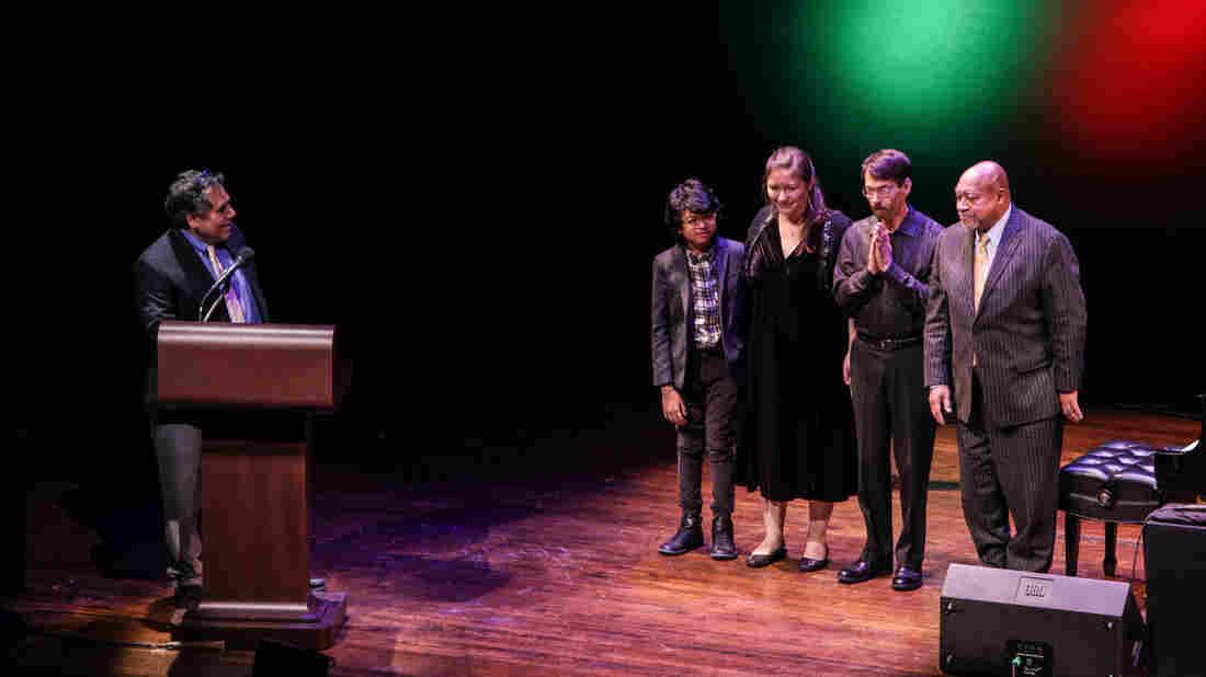 Host Felix Contreras introduces Joey Alexander, Carmen Staaf, Fred Hersch and Kenny Barron.