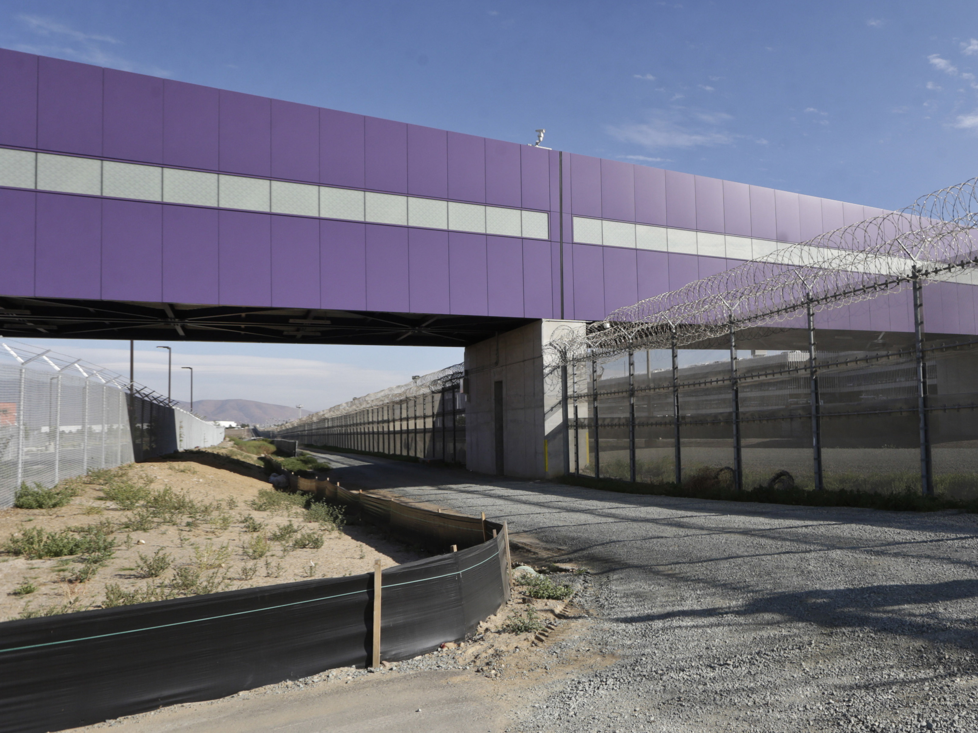 Above The Border, New Walkway Spans The Gap Between U.S. And Mexico