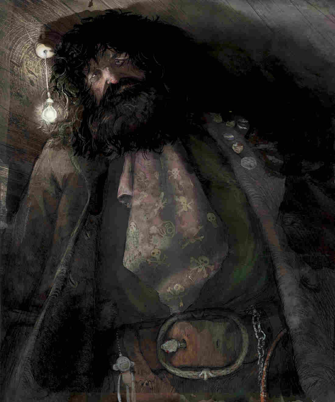 Hagrid, the trusty half-giant himself.
