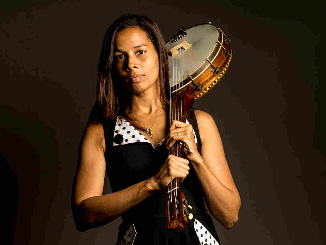 "Ann Powers calls Rhiannon Giddens' solo debut, Tomorrow Is My Turn, an album that ""literally reconfigures American history."""