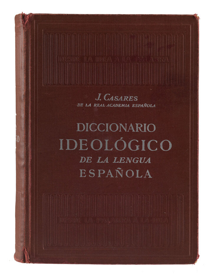 The Spanish dictionary used by Sara Sunshine, the Cuban immigrant who in 1962 co-founded the U.S.'s first Latino ad agency.