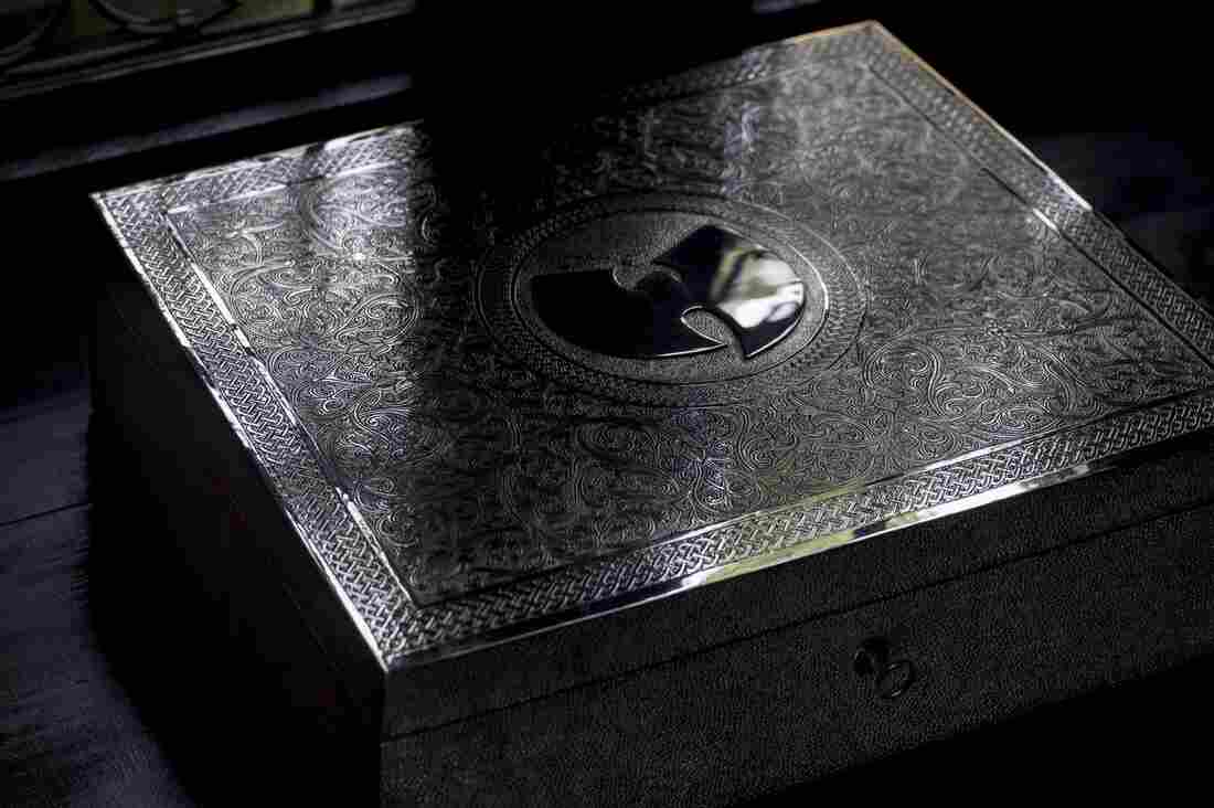 A handcrafted silver box by the British-Moroccan artist Yahya holds the only known copy of the Wu-Tang Clan double album Once Upon A Time In Shaolin.