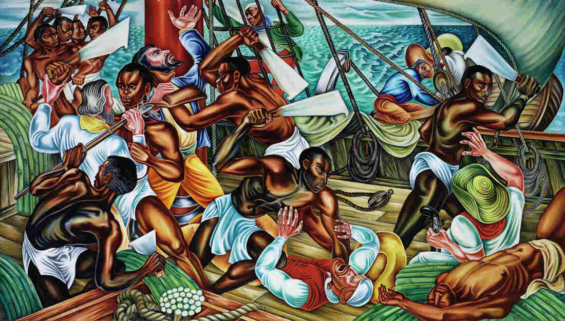 Artist Hale Aspacio Woodruff was commissioned to paint the Amistad Murals in 1938.