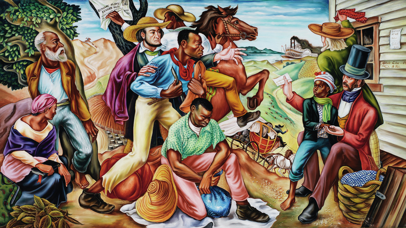With powerful murals hale woodruff paved the way for for Black history mural
