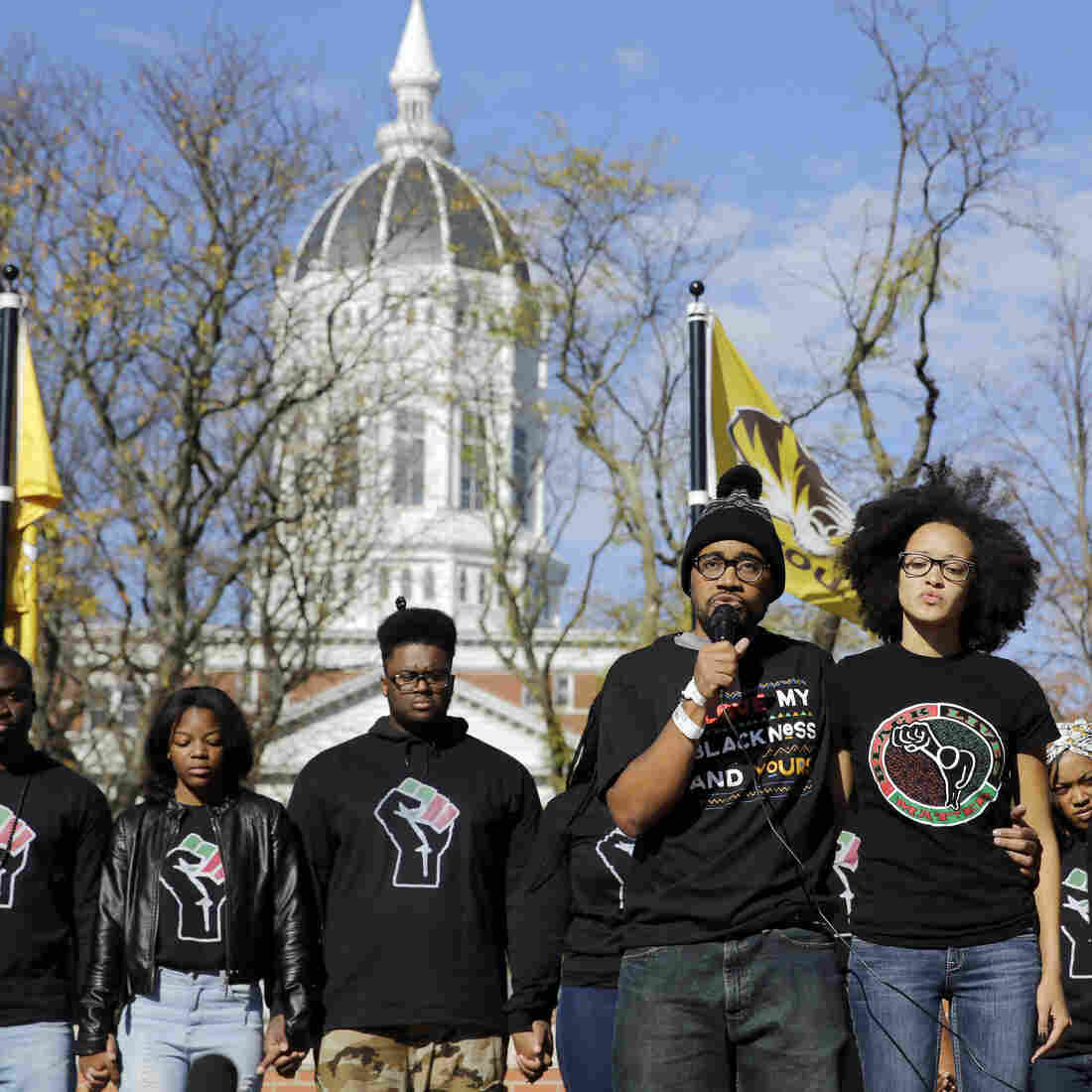 Students at the University of Missouri protested this fall amid concerns about the administration's handling of racial issues.