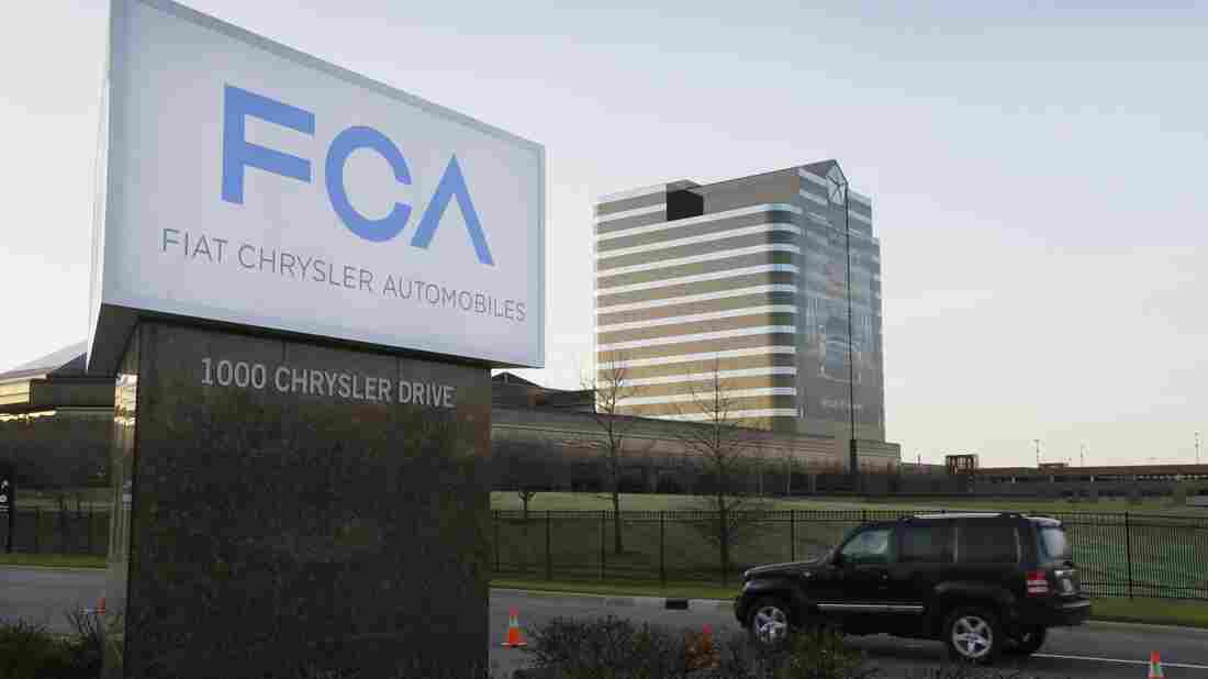 The parent company of Chrysler acknowledges that it failed to turn over safety data as required. Above, a 2014 photo of Fiat Chrysler Automobiles headquarters in Auburn Hills, Mich.