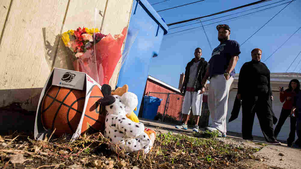 Amid Violence, Chicago Parents Try To Inoculate Their Sons Against Fear
