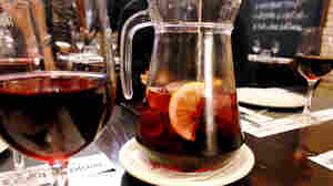 Some bars are blending leftover wine with fruit to make sangria.