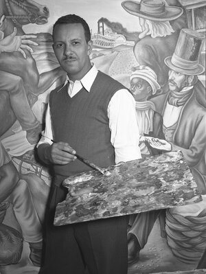 At Atlanta University, Woodruff founded what was known as the Exhibition for African American artists.