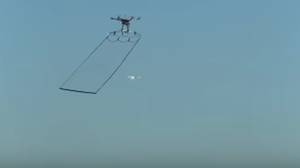 Tokyo Police Launch Drone Designed To Take Down Other Drones