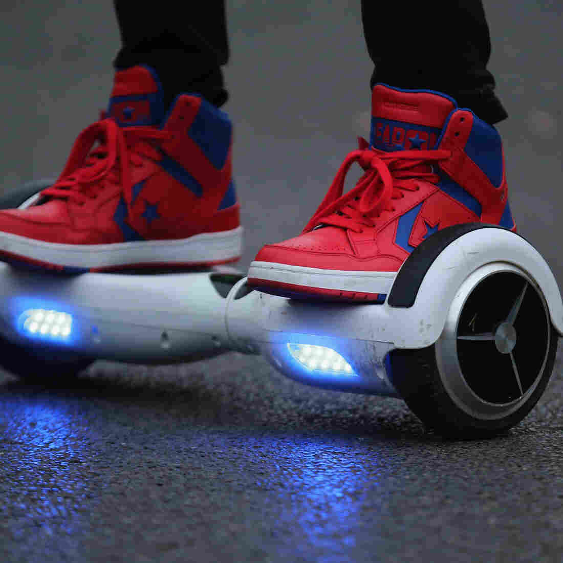 Hoverboards Put On No-Fly List, As Airlines Cite Fire Concerns