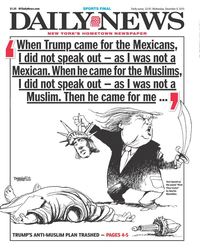 Donald Trump Has Escalated His Rhetoric. So Has The Press Covering Him : NPR