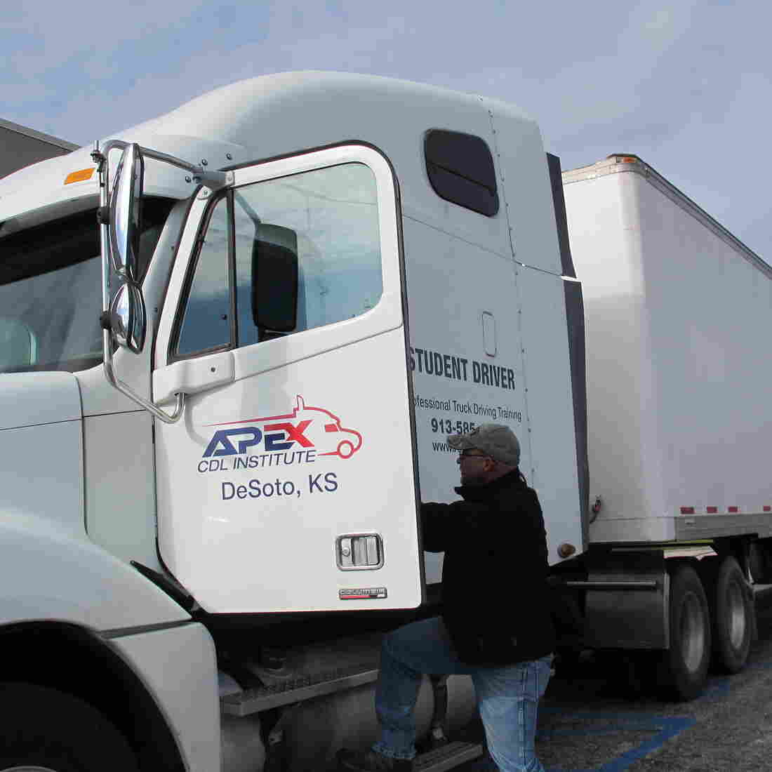 Trucking Shortage: Drivers Aren't Always In It For The Long Haul
