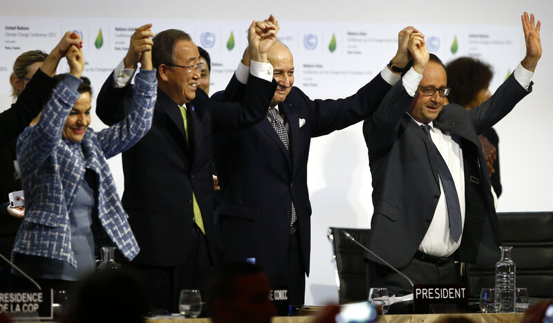 Nearly 200 Nations Adopt Climate Agreement At Cop21 Talks In Paris