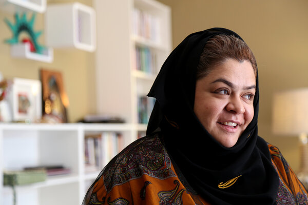 Haifa Alhababi, architect and candidate in the election.