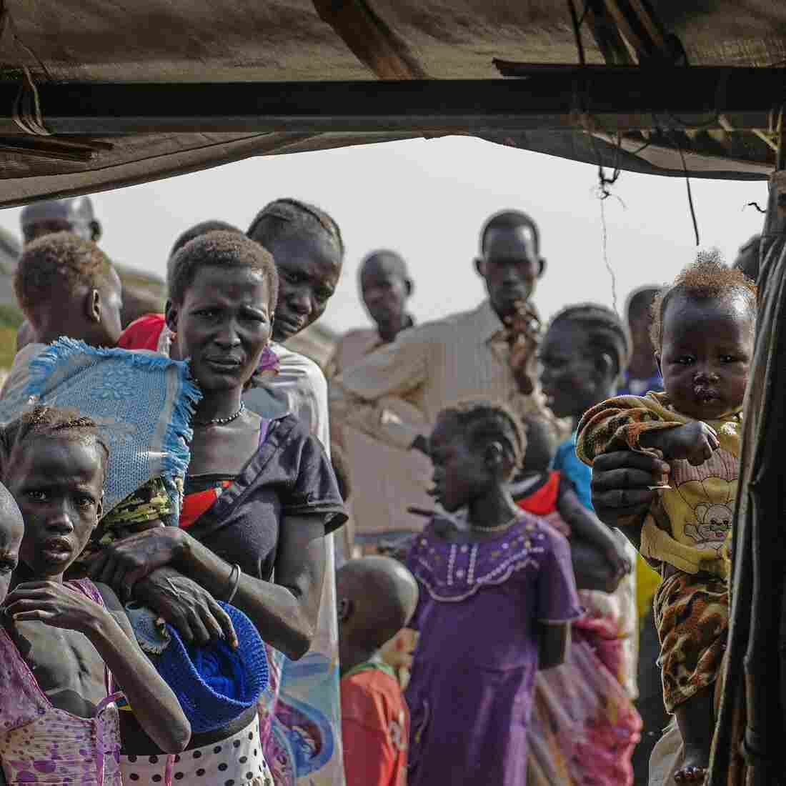 U.N. Bases Turn Into Cities For Desperate And Displaced In South Sudan