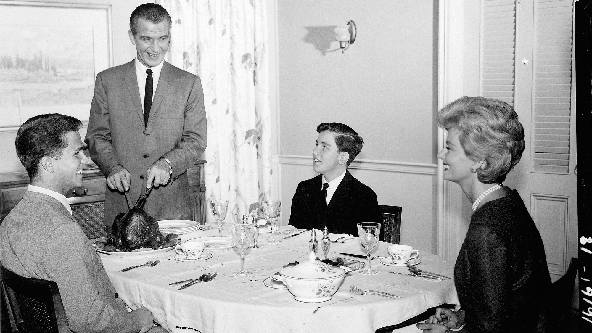U0027No Place For Discontentu0027: A History Of The Family Dinner In America : The  Salt : NPR