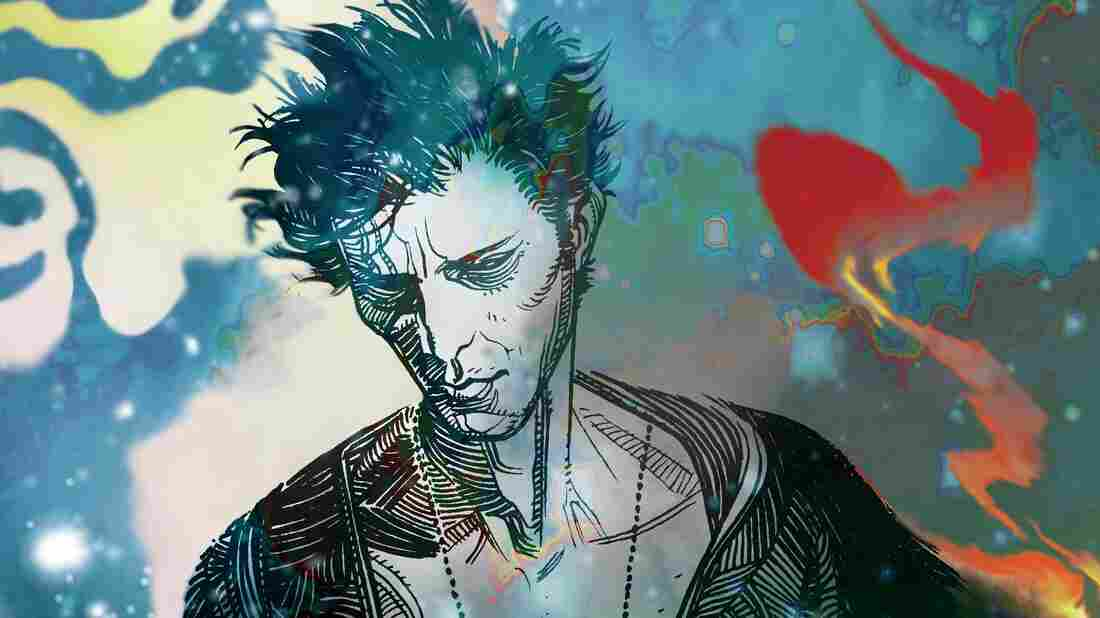 """""""I decided that it would be a really interesting to create a character who was Dream,"""" author Neil Gaiman says of his character Sandman."""