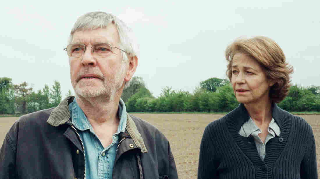 Tom Courtenay and Charlotte Rampling play a married couple forced to reassess their relationship in Andrew Haigh's film, 45 Years.