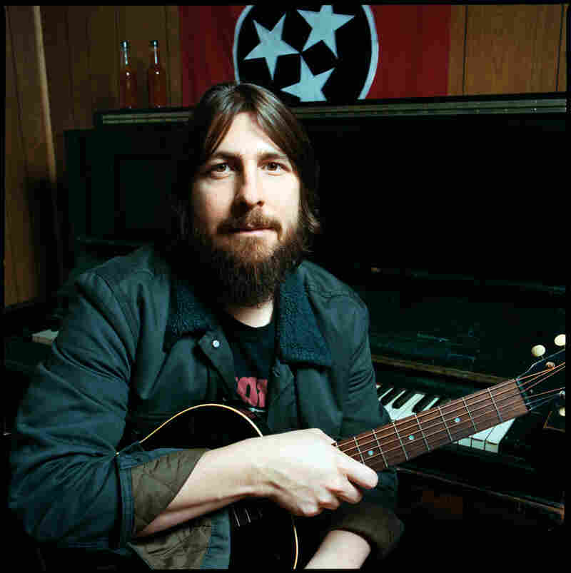 Dave Cobb in his studio.