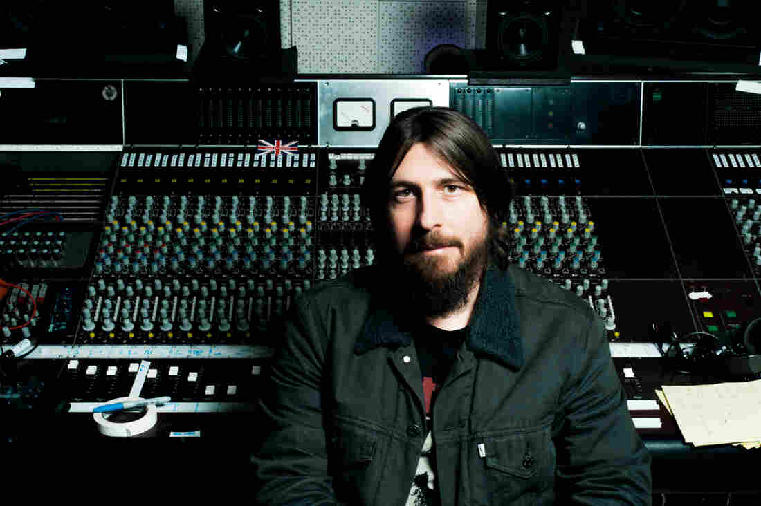 """Producer Dave Cobb in the studio at his Nashville home. Cobb's work has added traditional notes to the slick sound that dominates country, but he challenges the idea that what he's doing is more """"authentic."""""""