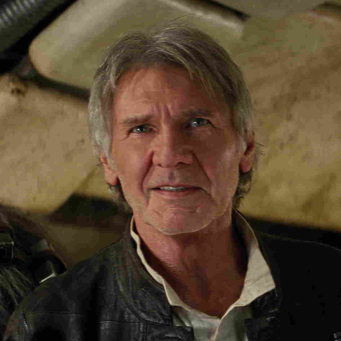 Both Chewbacca (Peter Mayhew) and Han Solo (Harrison Ford) return in Star Wars: The Force Awakens.