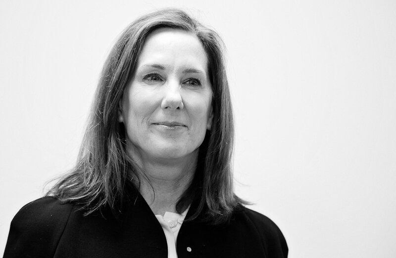 kathleen kennedy from standing in line for star wars to producing