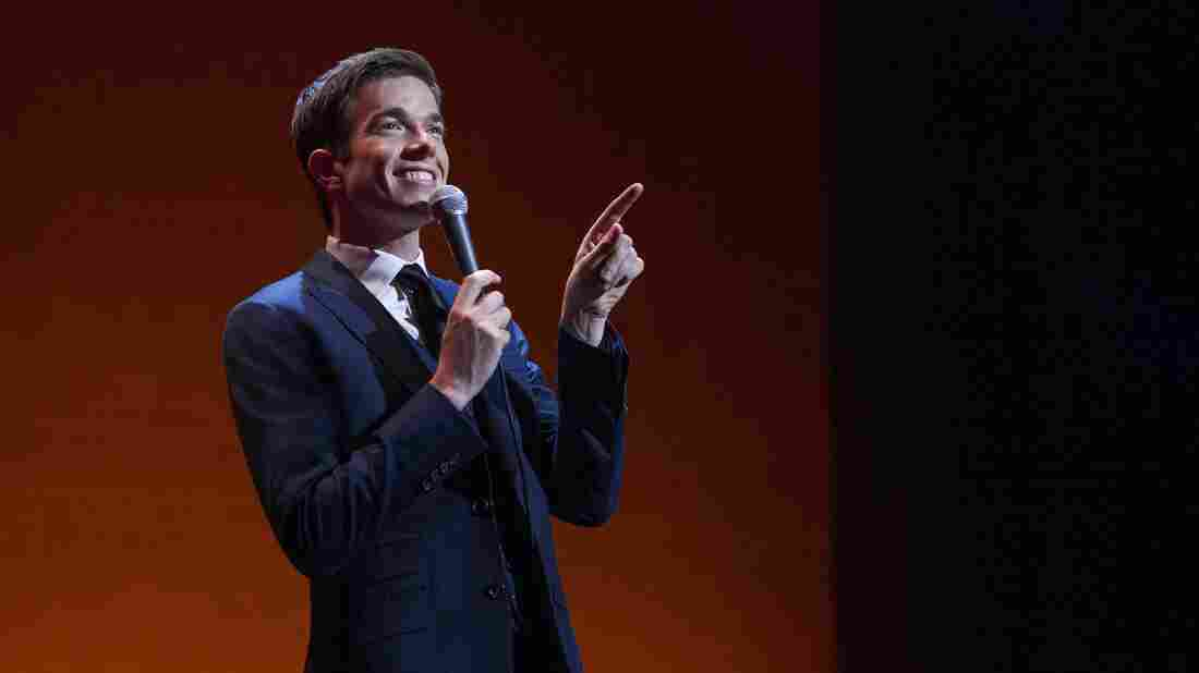 Comedian John Mulaney in his new special, The Comeback Kid.