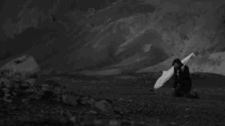 "A still from Solstafir's ""Miðaftann."""