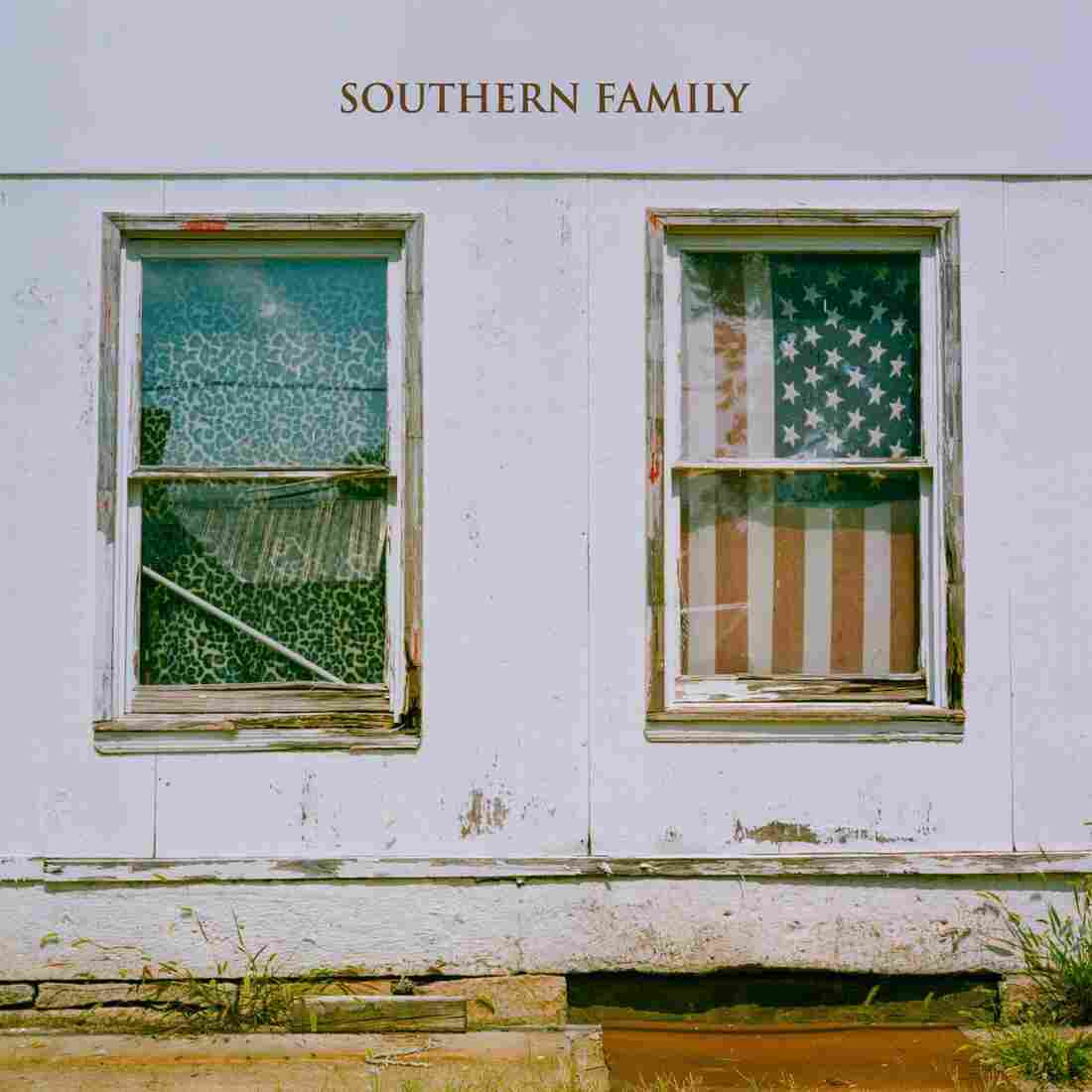 The cover of Dave Cobb's collaborative concept album Southern Family.