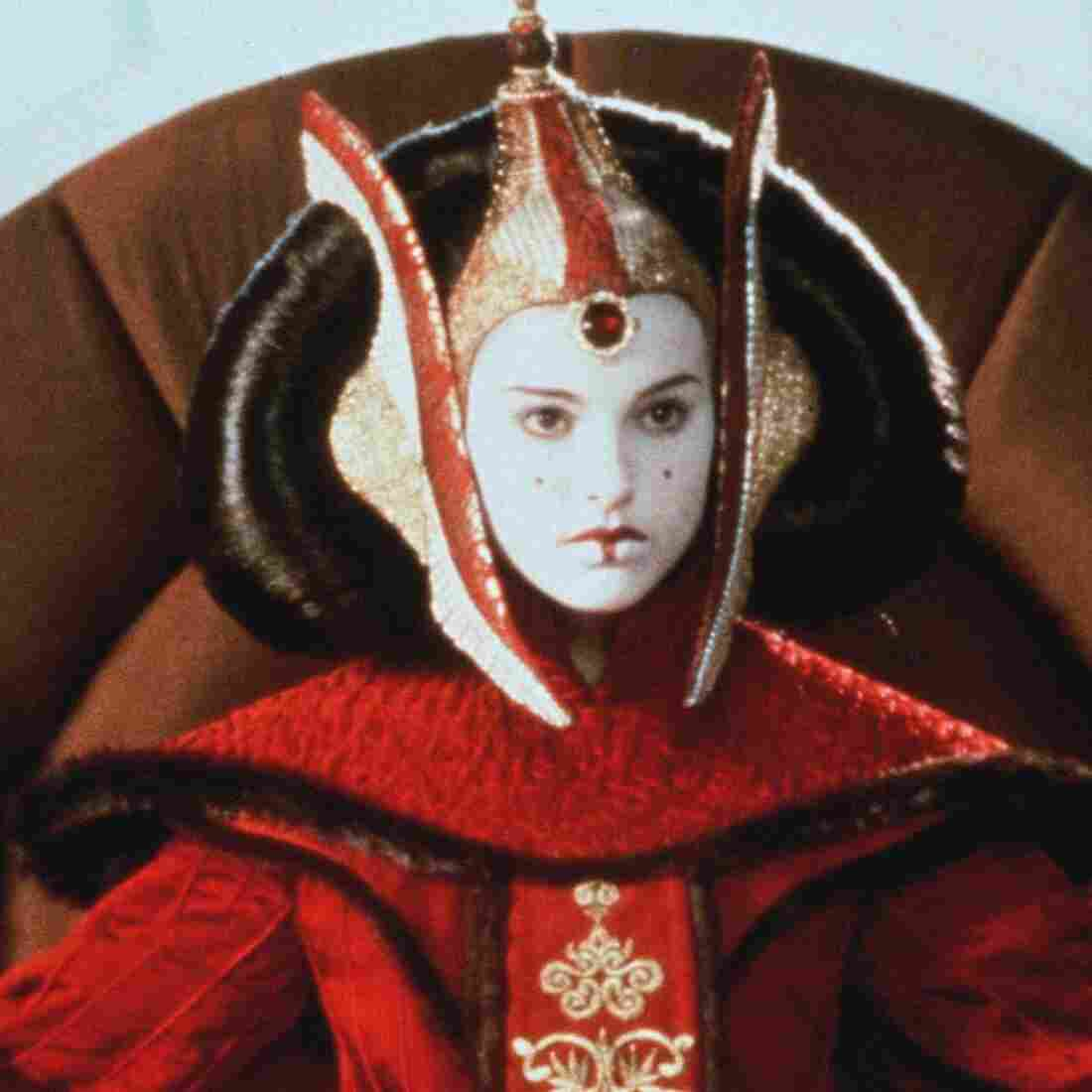 Natalie Portman as Queen Amidala in Star Wars Episode I: The Phantom Menace in 1999.