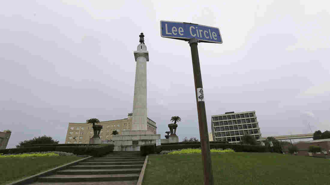 The Robert E. Lee Monument in Lee Circle in New Orleans is one of four prominent Confederate monuments the City Council has voted to remove.