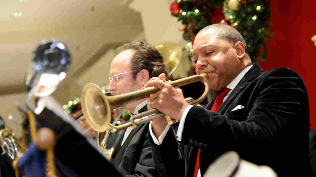 "Trumpeter Wynton Marsalis' version of ""We Three Kings"" goes on Christian McBride's holiday playlist."
