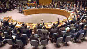 The U.N. Security Council unanimously approved a resolution endorsing a peace process for Syria including a cease-fire and talks between the Damascus government and the opposition.